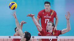 Voleibol - Campeonato de Europa Masculino: Bélgica - España. Desde Amberes (Bélgica)