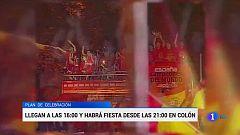Y los actos de celebración... este lunes en Madrid