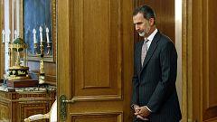 El rey abre una nueva ronda de consultas en una semana decisiva