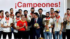 Los campeones del mundo se dirigen a Colón para celebrar el triunfo mundialista
