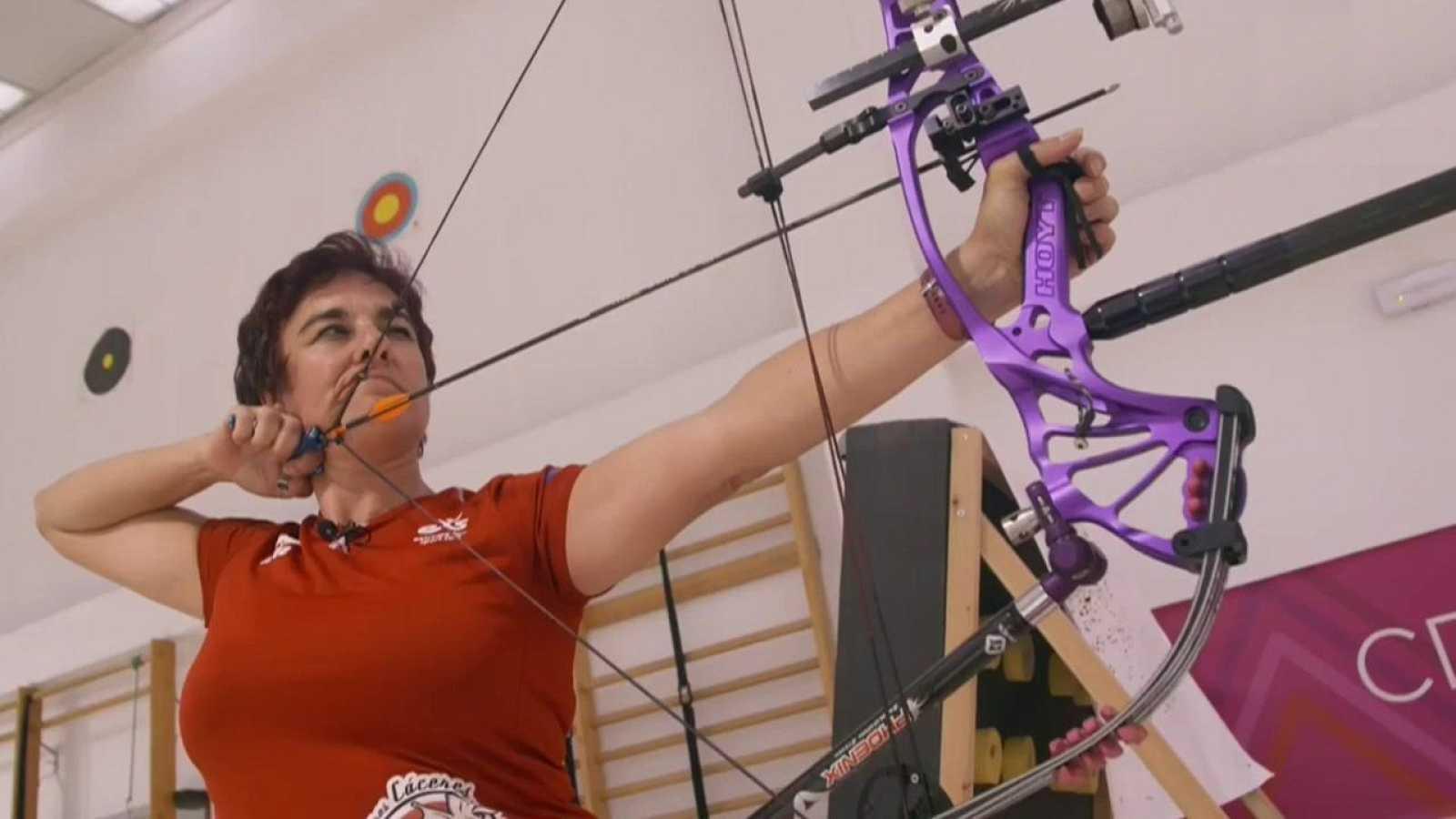 Mujer y deporte - Tiro con arco: Fátima Agudo