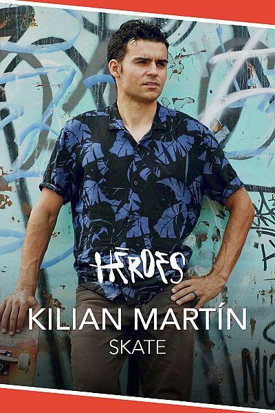 Mira ya el primer programa de Héroes, con Kilian Martin