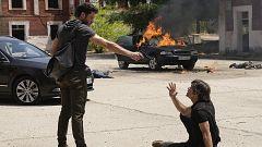 Servir y Proteger - Álvaro dispara a Santos Mercader y muere