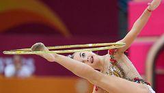 La rusa Dina Averina arranca su cosecha de medallas con un oro y un bronce
