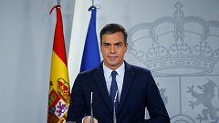 Sánchez culpa a PP, Cs y Unidas Podemos de la repetición de elecciones