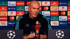 Zidane elogia a Benzema antes de enfrentarse al PSG