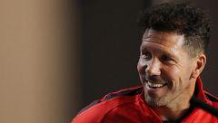 """Simeone: """"Es difícil preparar algo contra Cristiano, es un animal del gol"""""""