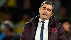 """Valverde: """"Hemos sufrido mucho, no lo voy a negar"""""""