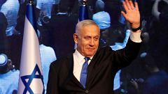 Empate técnico entre Netanyahu y Gantz
