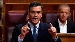 """Sánchez pide una """"mayoría más rotunda"""" el 10 de noviembre y Casado le advierte que las elecciones """"las carga el diablo"""""""