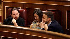 """Belarra acusa al PSOE de apostar por """"un modelo fracasado"""" y Calvo advierte que fue Podemos quien rechazó la coalición"""