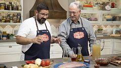 Hacer de comer - Raviolis de carne con tomate y marmitako