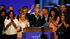 La repetición electoral en Israel reproduce el empate técnico entre Netanyahu y Gantz
