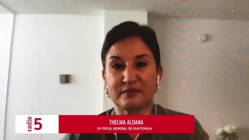 Thelma Aldana en 'Cinco Continentes'