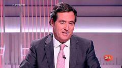 """Garamendi (CEOE): """"La responsabilidad de la clase política es clave para la economía"""""""