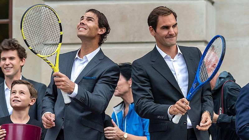 Después de conquistar el US Open, Rafa Nadal volverá a las pistas en la Laver Cup, un torneo que siempre ha apoyado. Un esfuerzo que Roger Federer le agradece.