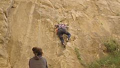 La Paisana - Eva Hache se inicia en la escalada