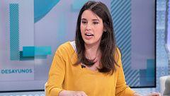 Irene Montero (Podemos) asegura que no le ¿preocupa¿ si Errejón y Carmena concurren a las generales