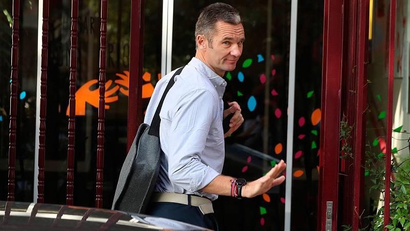 Urdangarin llega al hogar personas con discapacidad de Pozuelo (Madrid) para realizar el voluntariado