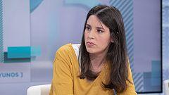 Los desayunos de TVE - Irene Montero, portavoz de Unidas Podemos en el Congreso