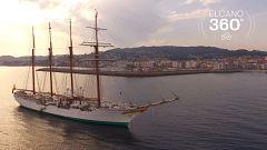 Súbete al barco y navega con Elcano en 360º