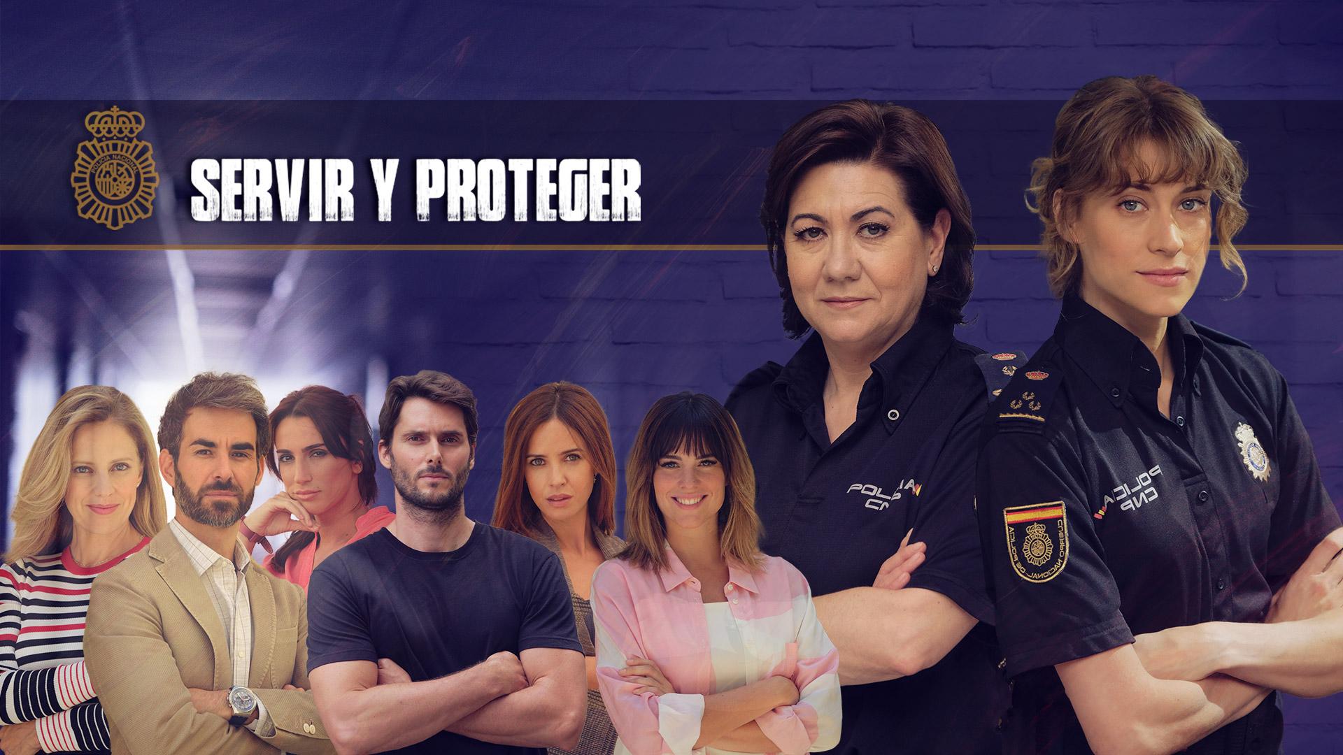 Servir y Proteger - Así es la nueva cabecera de 'Servir y Proteger' - RTVE .es