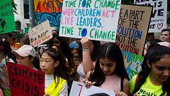 Manifestaciones en todo el mundo denuncian la pasividad de los gobiernos ante el cambio climático