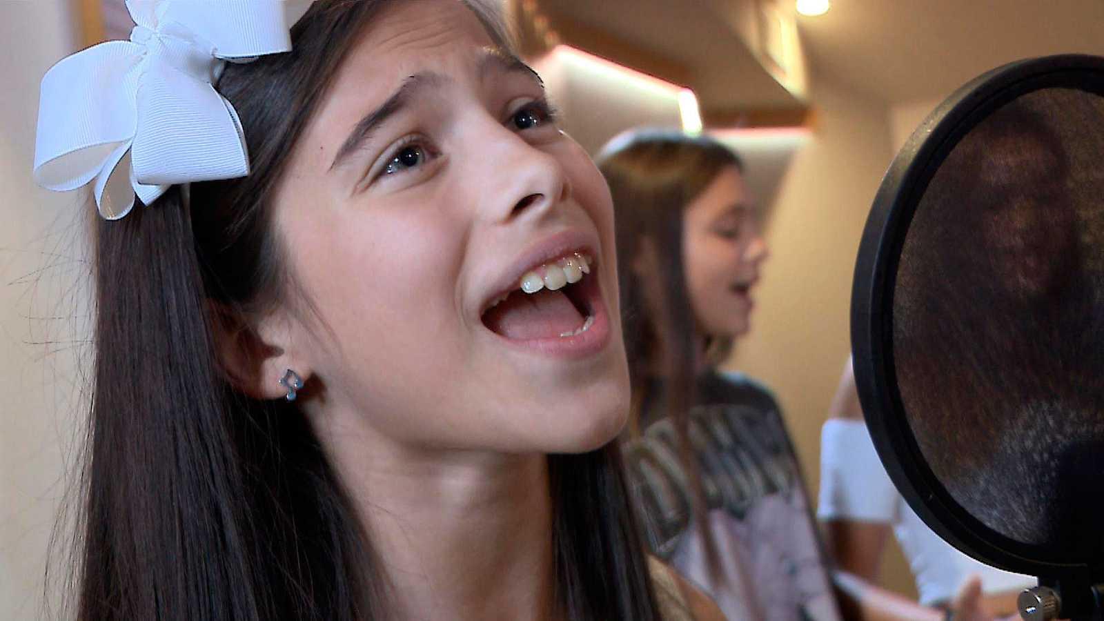 """Asistimos a la grabación de """"Marte"""", el tema de Melani para Eurovisión Junior 2019"""