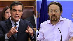 Sánchez asegura que no podría dormir con Iglesias en el Gobierno y éste le acusa de mentir