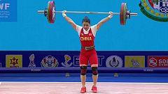 Halterofilia - Campeonato del Mundo 2019. Final 55 kg. femeninos