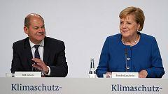 Merkel responde al clamor por la crisis climática con un plan de 54.000 millones de euros