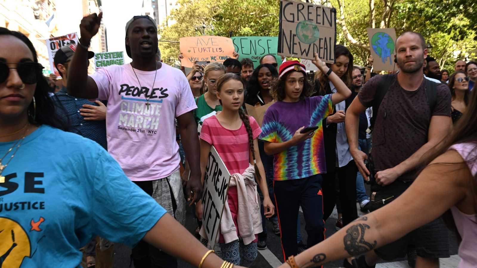 Protesta global para reclamar medidas contra la crisis climática