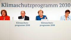 Alemania lanza un plan de 54.000 millones para combatir el cambio climático