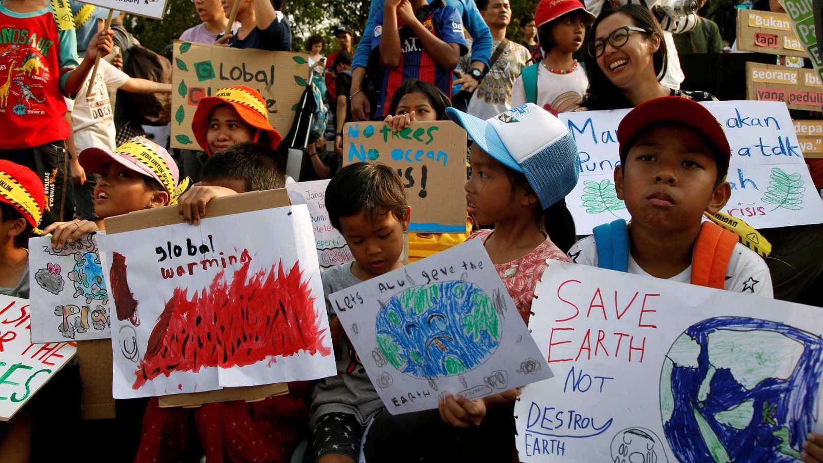 Millones de personas se manifiestan en todo el planeta para reclamar medidas contra el cambio climático