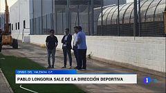 Nueva baja en el Valencia: Longoria deja de ser director técnico