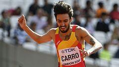 Fernando Carro ultima su preparación para el Mundial de atletismo