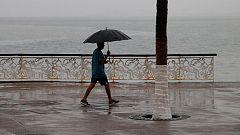 Un total de 21 provincias estarán este sábado en riesgo por  lluvias y tormentas