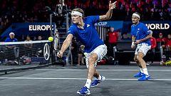 Tenis - Laver Cup 2019. 4º partido dobles: R. Federer/A. Zverev - D. Shapovalov/J. Sock