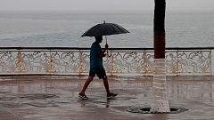 Fuertes precipitaciones en el centro y el noreste peninsular