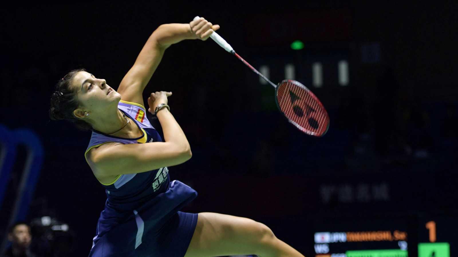 Carolina Marín vence a Takahashi y se mete en la final