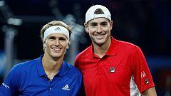 Tenis - Laver Cup 2019. 5º partido individual:  Zverev - Isner