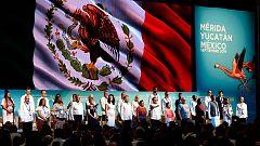 Más de 30 ganadores del Premio Nobel de la Paz se reúnen durante una cumbre en México