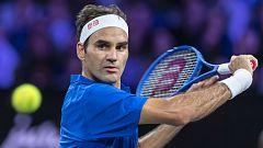Tenis - Laver Cup 2019. 6º partido individual: Federer - Kyrgios