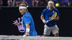 Tenis - Laver Cup 2019. 8º partido dobles: Nadal/Tsitsipas - Kyrgios/Sock