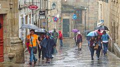 Fuertes precipitaciones en el norte penínsular e inestabilidad en Canarias