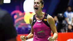 Carolina Marín gana la final del Abierto de China, primer título tras su grave lesión