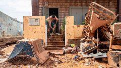 Continúan las labores de limpieza en Murcia tras las fuertes inundaciones