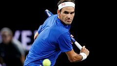 Tenis - Laver Cup 2019. 11º partido individual: R. Federer - J. Isner