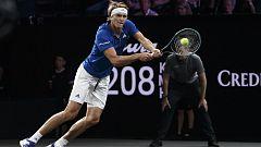 Tenis - Laver Cup 2019. 12º partido individual: A. Zverev - M. Raonic