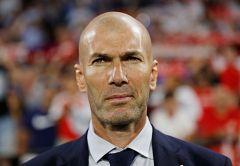 """Zidane: """"Estoy contengo porque es una victoria de grupo"""""""